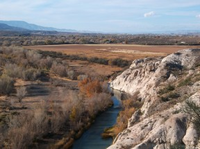 Verde River in Camp Verde, Arizona